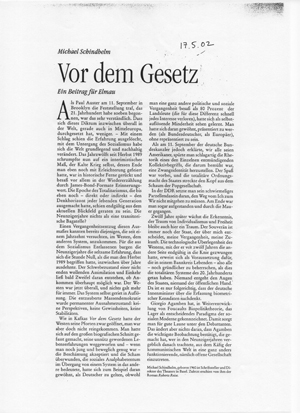 gesetz auf deutsch