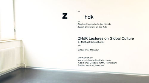 Lecture Series on Global Culture / What is Global Culture?  Chapter 5