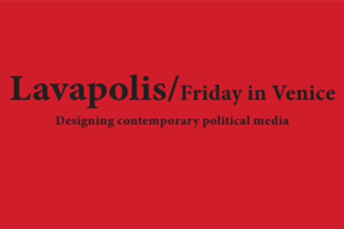 Publication on Lavapolis / Friday in Venice
