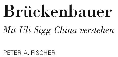 """""""Brückenbauer"""" – Rezension in der NZZ"""
