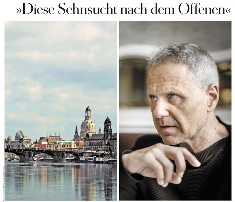 Interview in DIE ZEIT über Dresden 2025