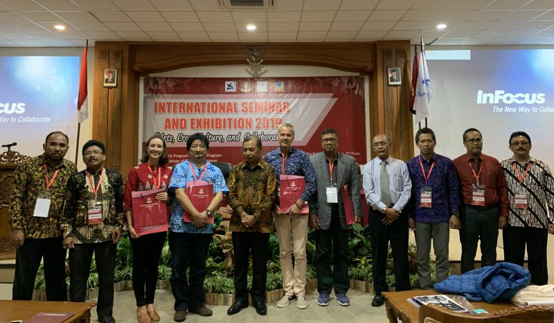 Talk at Indonesia Art Institute Denpasar